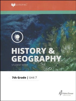 Lifepac History & Geography Grade 7 Unit 7: Economics - Resources and Needs  -