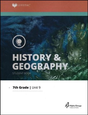 Lifepac History & Geography Grade 7 Unit 9: State Economics and Politics  -