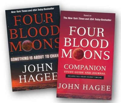 Four Blood Moons Book and Study Guide, 2 Volumes  -     By: John Hagee