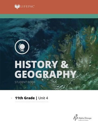 Lifepac History & Geography Grade 11 Unit 4: A Nation Divided   -