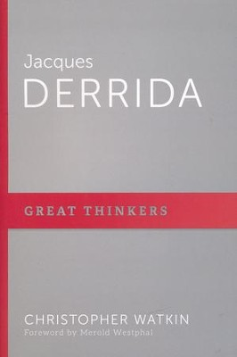 Jacques Derrida: Host of Deconstruction  -     By: Christopher Mark Watkin