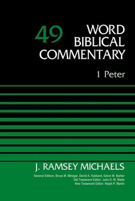 1 Peter, Volume 49 - eBook  -     By: J. Ramsey Michaels