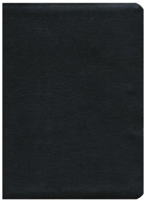 NKJV The Jeremiah Study Bible, Genuine leather, Black  - Slightly Imperfect  -