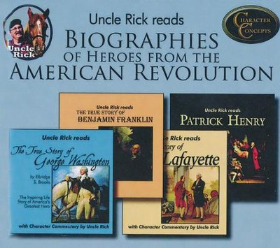 Uncle Rick Reads Biographies of the Heroes from the American Revolution Audio CD Collection  -     By: Rick Boyer