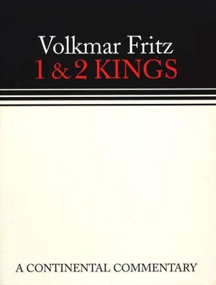 1 & 2 Kings: Continental Commentary Series [CCS]   -     By: Volkmar Fritz
