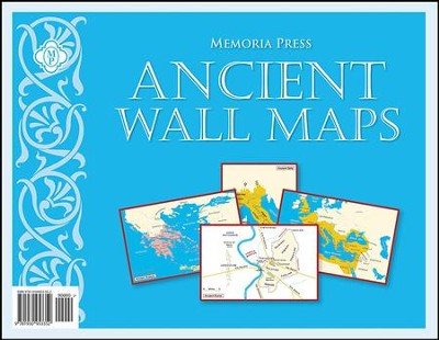 Ancient Civilization Large Wall Maps   -