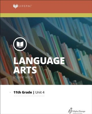 Lifepac Language Arts Grade 11 Unit 4: Why Study Reading?   -