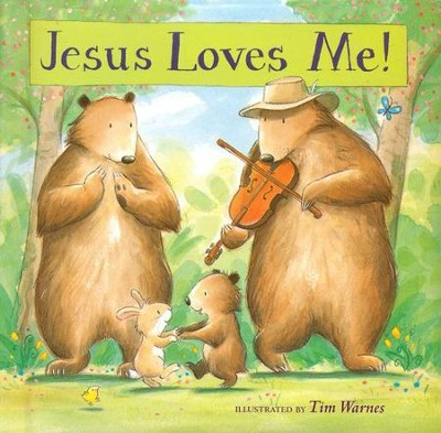 Jesus Love Me! Padded Board Book  -     By: Tim Warnes