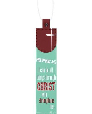 I Can Do All Things Through Christ Bookmark  -