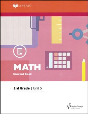 Grade 3 Math Lifepac 5: Plane Shapes, Symmetry, Bar Graphs, Finding Perimeter  -