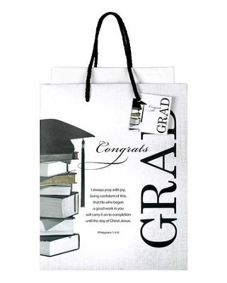 Congrats Grad Gift Bag, Medium   -