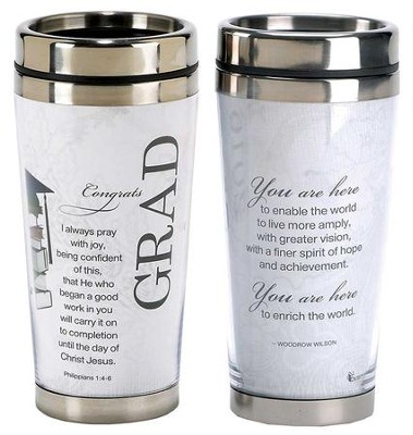 Congrats Grad Travel Mug  -