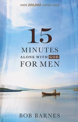 15 Minutes Alone with God for Men  -     By: Bob Barnes