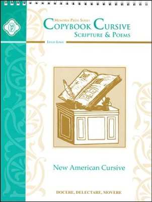 Copybook Cursive: Scripture & Poems   -     By: Leigh Lowe