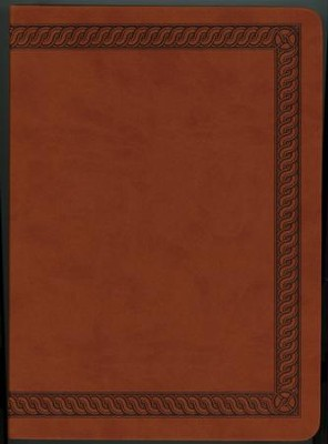 NKJV Jeremiah Study Bible, Soft Leather-look, Brown with burnished edges  -     By: Dr. David Jeremiah