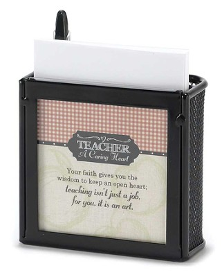 Teacher, A Caring Heart Quik Notes  -
