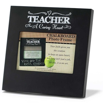 Teacher, A Caring Heart Photo Frame  -