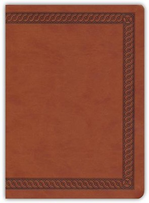 NKJV Jeremiah Study Bible, Soft leather-look, Brown w/burnished edges (indexed)  -     By: Dr. David Jeremiah