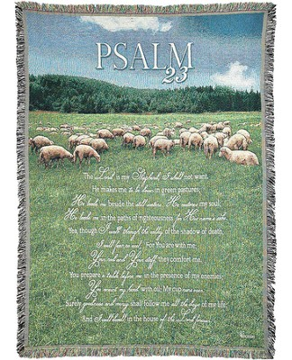 Psalm 23 Throw  -