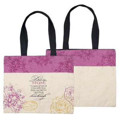 Dear Mom Tote Bag  -