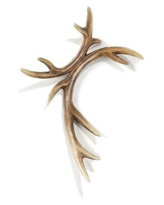Truth Hunter Antler Wall Cross  -