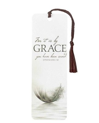 For It Is By Grace Bookmark, Ephesians 2:8  -