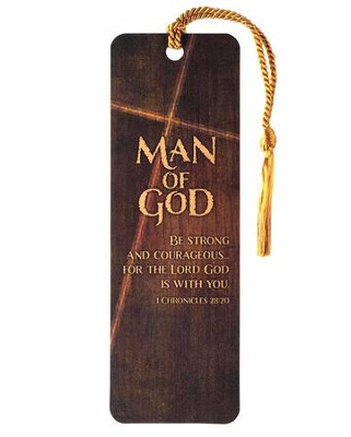 Man of God Bookmark  -