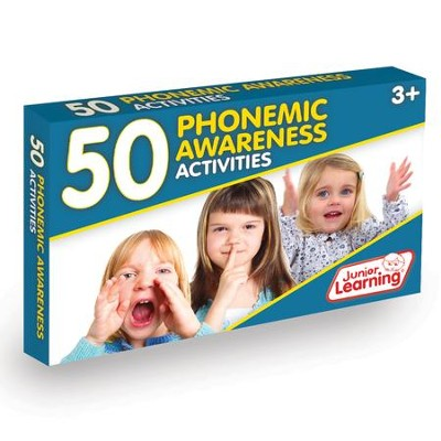 50 Phonemic Awareness Activity Cards   -     By: Duncan Milne