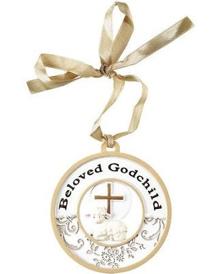 Beloved Godchild Ornament  -