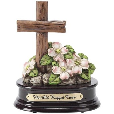 Old Rugged Cross Music Box  -