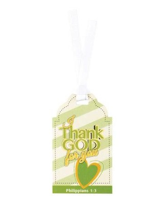 I Thank God For You Bookmark  -