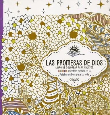 Las Promesas de Dios, Libro de Colorear para Adultos (The Promises ...