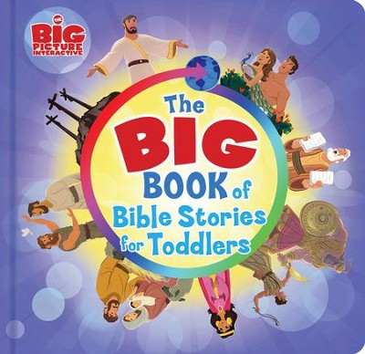 The Big Book of Bible Stories for Toddlers - eBook  -