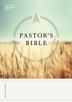 CSB Pastor's Bible - eBook  -