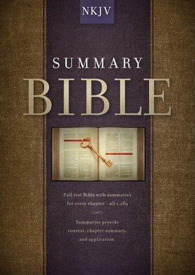 Summary Bible, NKJV Edition - eBook  -