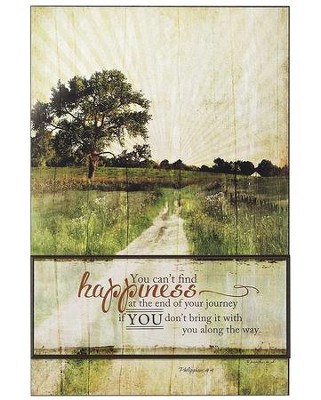 You Can't Find Happiness Wall Plaque  -