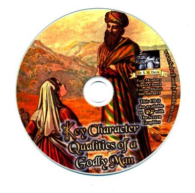 Key Character Qualities of a Godly Man Audio CD  -     By: Dr. S.M. Davis