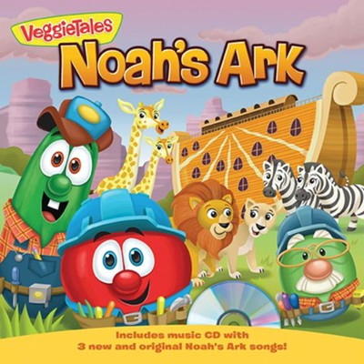 Noah's Ark: A Lesson in Trusting God includes CD   -
