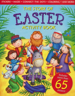 The Story Of Easter Activity Book  -     By: Ideals Editors     Illustrated By: Lisa Reed, Lisa Wallace