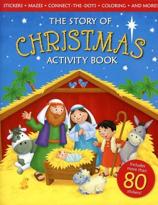 The Story of Christmas Activity Book   -     By: ideals Editors     Illustrated By: Lisa Reed