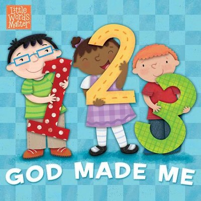 1, 2, 3 God Made Me - eBook  -     By: B&H Kids Editorial Staff     Illustrated By: Holli Conger