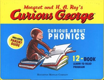 Curious George: Curious About Phonics 12-Book Learn-to-Read  Program  -     By: H.A. Rey