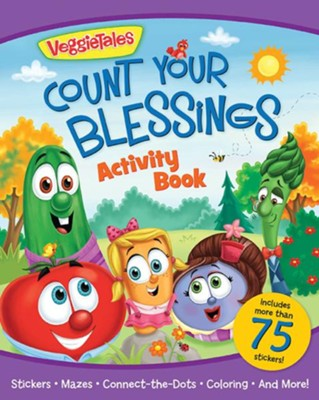 Veggie Tales Count Your Blessings Activity Book  -     By: Kathleen Bostrom     Illustrated By: Lisa Reed