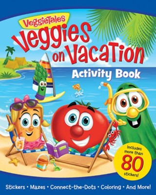 Veggies on Vacation Activity Book  -     By: Kathleen Long Bostrom