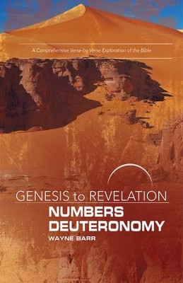 Numbers/Deuteronomy, Participant Book, Large Print, E-Book (Genesis to Revelation Series)  -     By: Wayne Barr