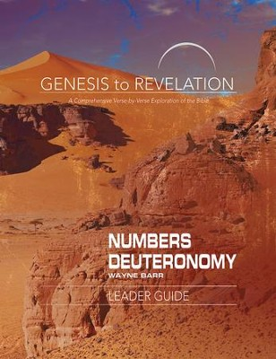 Numbers/Deuteronomy, Leader Guide, E-Book (Genesis to Revelation Series)  -     By: Wayne Barr