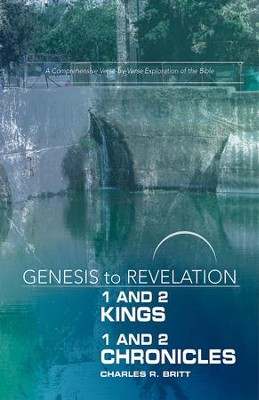 1&2 Kings/1&2 Chronicles, Participant Book, Large Print, E-Book (Genesis to Revelation Series)  -     By: Charles R. Britt
