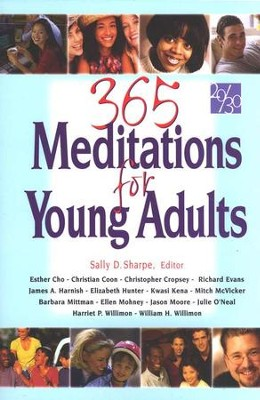 365 Meditations for Young Adults  -