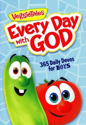 Every Day with God: 365 Daily Devos for Boys  -     By: VeggieTales