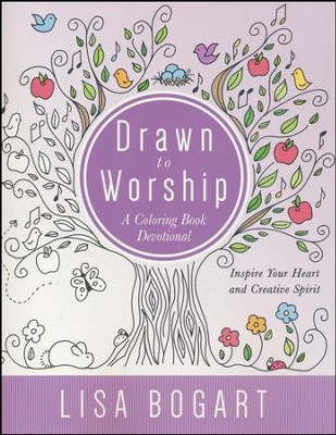 Drawn to Worship Coloring Devotional  -     By: Lisa Bogart